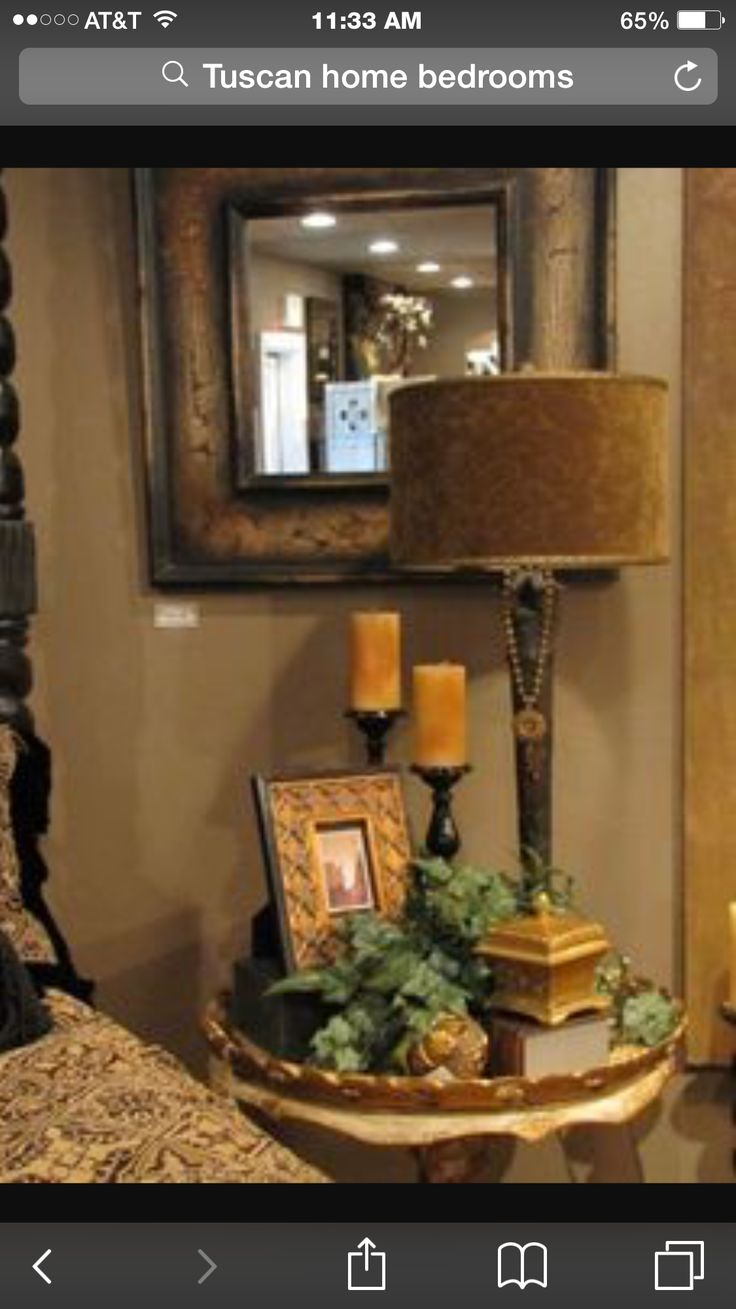 799 best my tuscan style images on pinterest fleur de lis bedside table with tuscan accessories