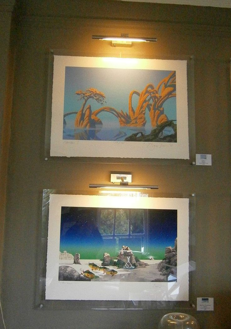 Set of images, including the iconic Tales of Topographic Oceans album art.
