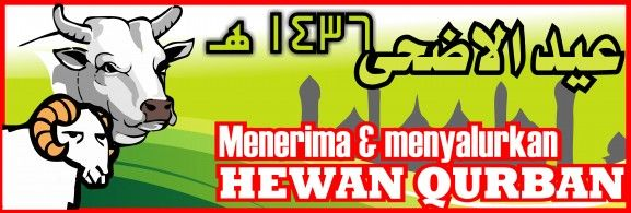9 Desain Banner Spanduk Qurban Idul Adha 1436