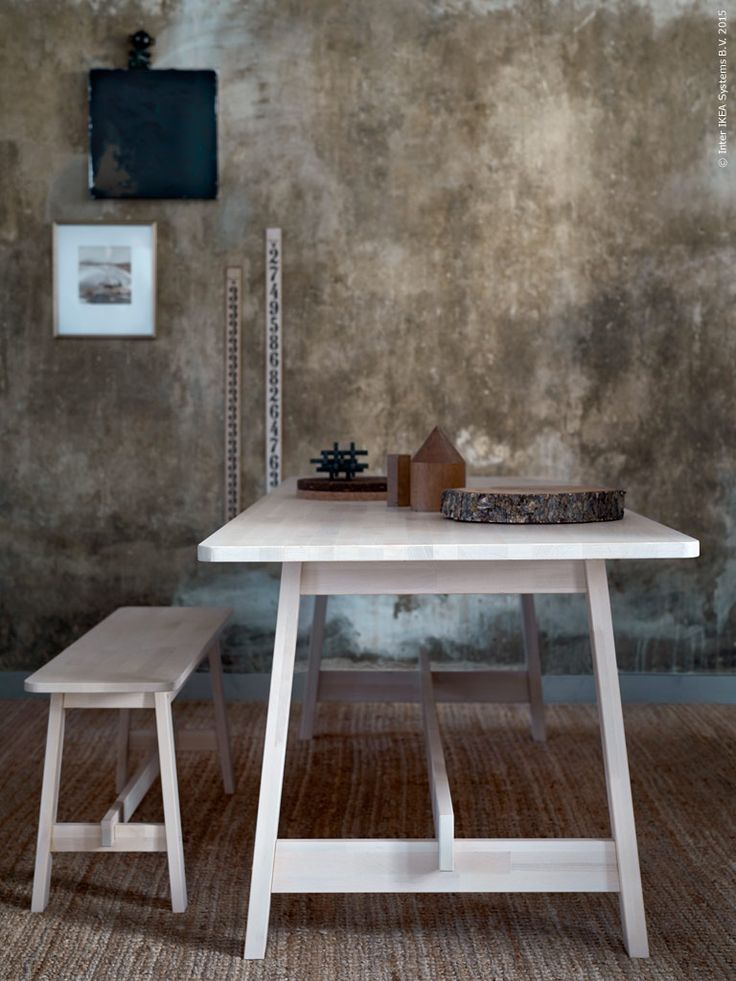 Bench Dining Tables: Furniture, Table