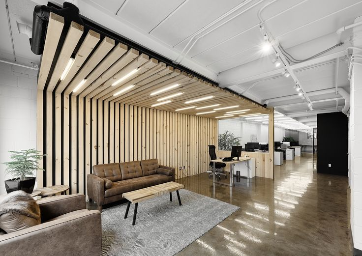 Inside agence masses sleek new quebec office