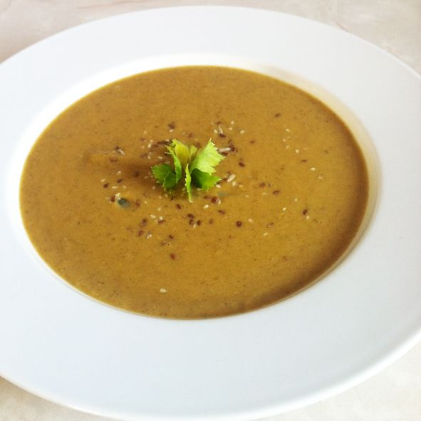 Butternut and Beans Soup