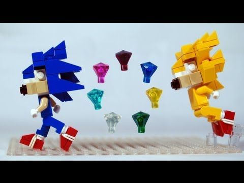 how to build lego sonic the hedgehog chaos emeralds and