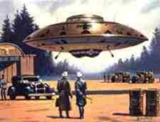 Flying Saucers of the Third Reich