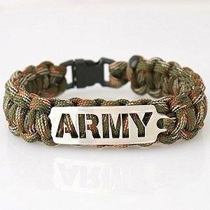 ARMY Paracord Unisex Bracelet
