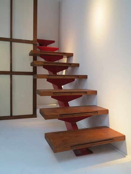 Escalier - Jean Prouvé - Galerie Downtown