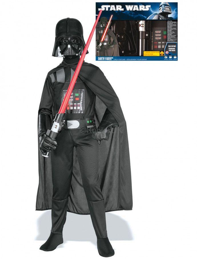 Darth Vader Set-Kostüm für Kinder aus Star Wars kaufen | Deiters | Junge | Kostüm | Karneval | Fasching | Outfit | Mottoparty | Halloween