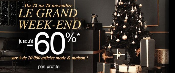 La Redoute Black Friday Le Grand Week-end