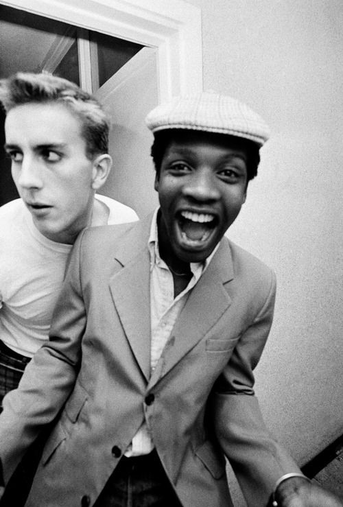 Terry Hall and Lynval Golding of The Specials, Adrian Boot // 1981