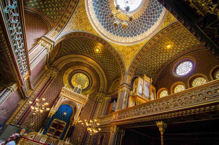 Things to do in Prague - Czech Republic - Spanish Synagogue Prague-1