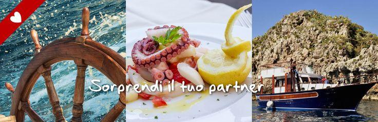 Cena in Barca nella Baia dell'Isola Bella #Taormina. Prenota ora: http://www.sicily-adventure.it/cena-in-barca-taormina.html