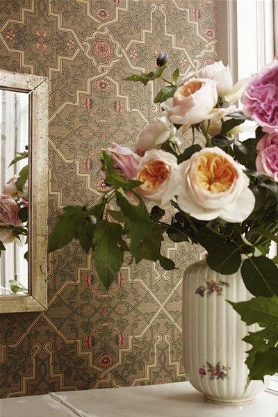 Karlslund – Rosenvinge #karlslund #boråstapeter #wallpaper #tapet
