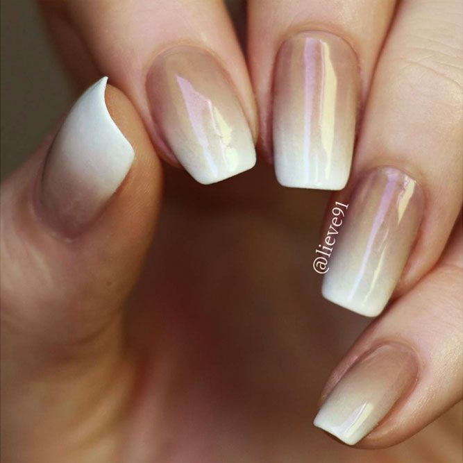 25 Magical White Nails Looks To Try Now Naildesignsjournal Com Ombre Nails Trendy Nails Dipped Nails