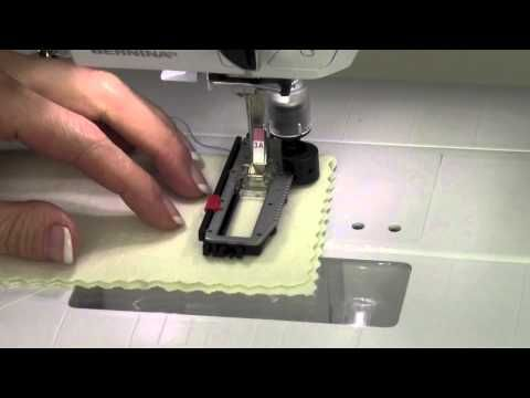 Bernina 330 14 Buttonholes - YouTube