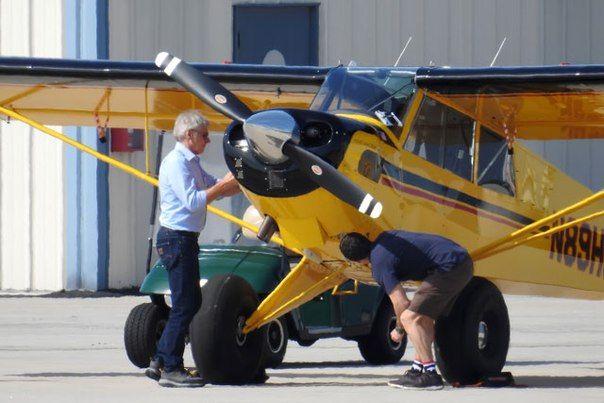 Харрисон Форд едва не врезался в пассажирский лайнер на своем самолете