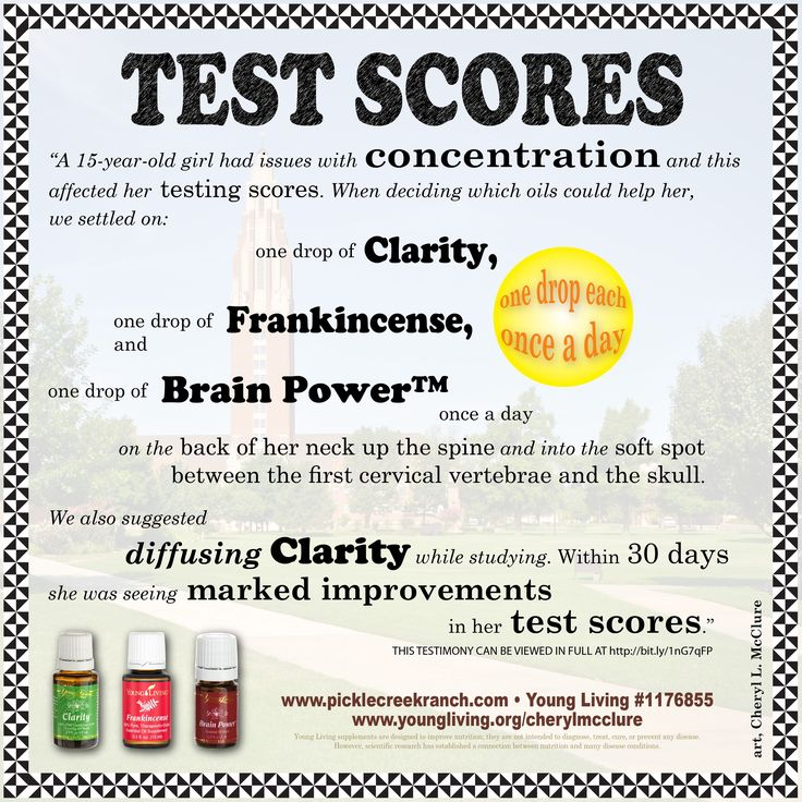 The Fall Semester is around the corner! Help your child make the most of the school year using Clarity, Frankincense and Brain Power by Young Living. Benefit in areas of concentration and focus. I can help you buy at a discount. www.picklecreekranch.com - YL#1176855