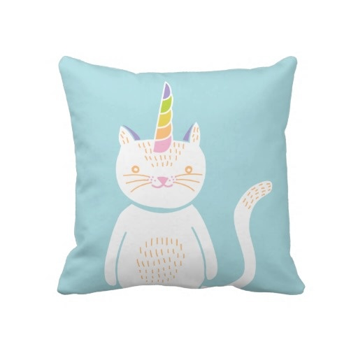 #Kitty #Unicorn #Pillow