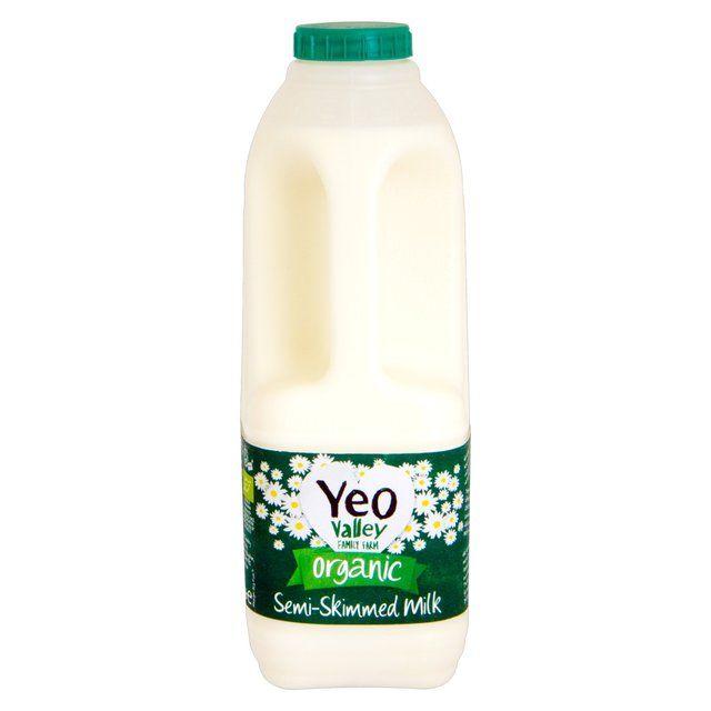 Yeo Valley Organic Semi-Skimmed Milk http://www.ocado.com
