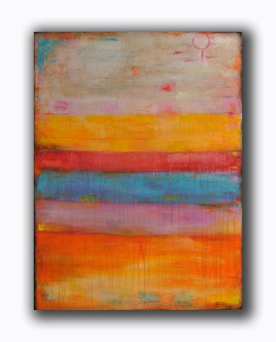 Abstract Painting  Large Painting  Original by RomanArtStudio, $259.00