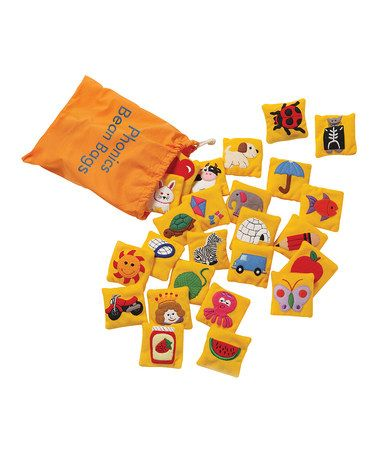 Take a look at this Phonics Beanbags Set by Educational Insights on #zulily today!