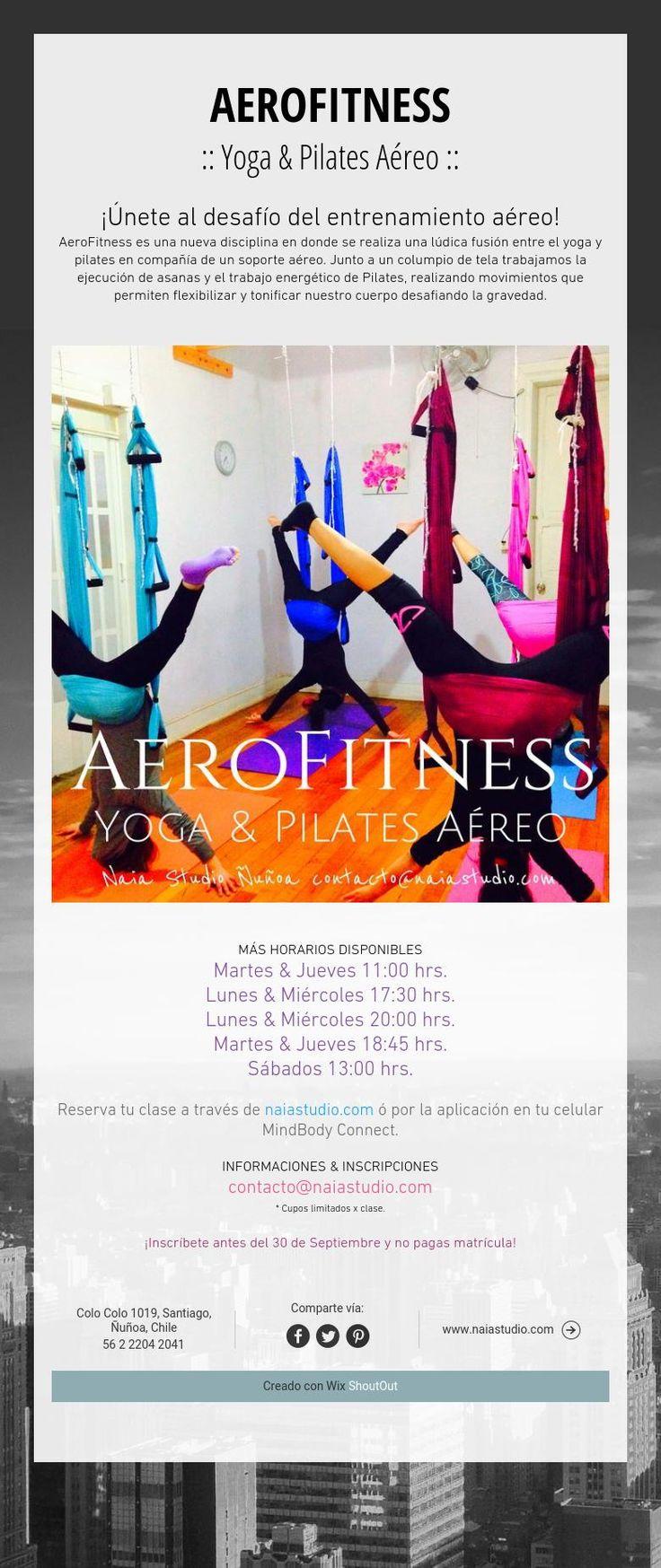 AEROFITNESS :: Yoga & Pilates Aéreo ::