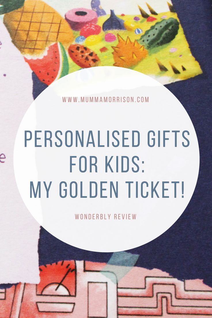 Looking for personalised gifts for kids? My Golden Ticket is perfect! Based on Charlie and The Chocolate Factory, your child will enjoy their own adventure!