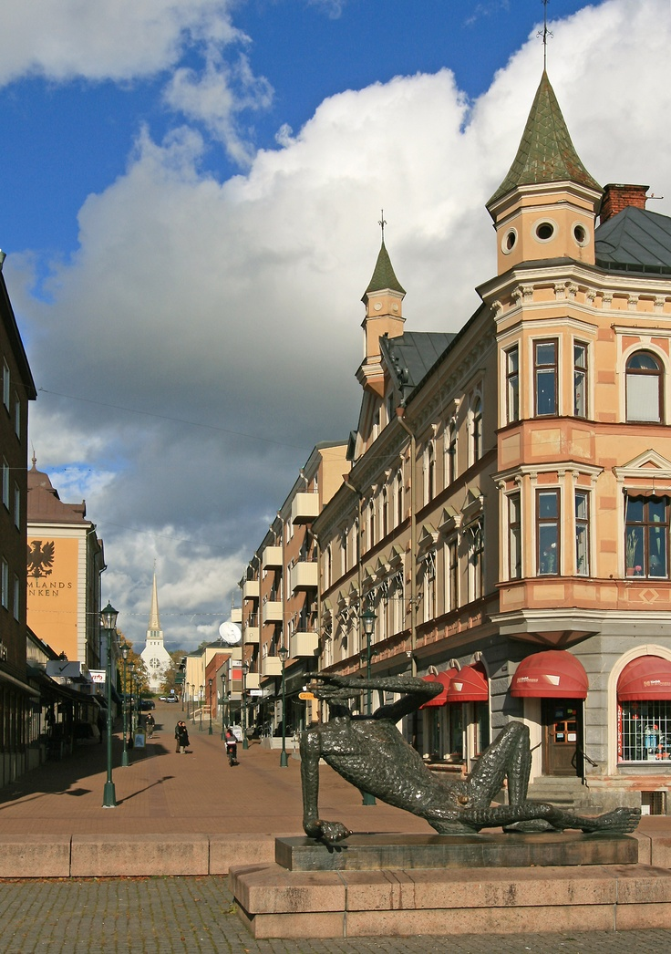 arvika, sweden  I have been here!! August 10, 1988. The Birthplace of Bill's Grandfather, Nels Wennberg.