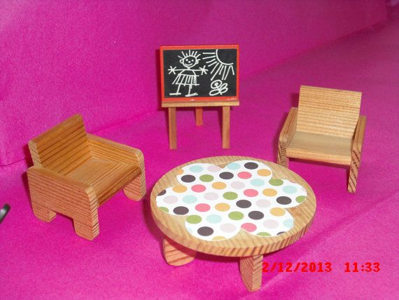 Lundby dolls house Childrens set 16th by VintageLundbyLove on Etsy, £9.99