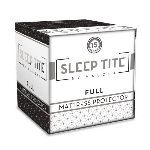 SLEEP TITE by Malouf Mattress Protector - 100% Waterproof - Eliminates Dust Mites - 15 Year Warranty (full) with Mini Tool Box (fs) by SLEEP TITE Mattress Protector. $180.99. Preserving your mattress with a Sleep Titeª mattress protector is imperative. Sleep Tite mattress protectors prevent the accumulation of moisture and skin flakes in your mattress; an unprotected mattress creates an optimal environment for the breeding of bacteria, dust mites, and bed bugs. The protective ma...