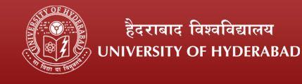 University of Hyderabad guest faculty jobs 2013