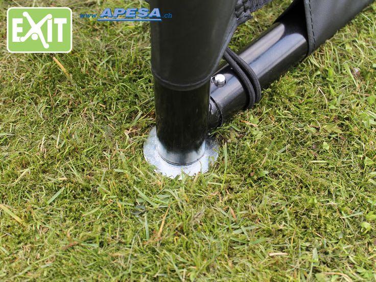 Trend Exit Fussballtor Maestro Coppa und Finta werden alle mit zwei Bodenankern geliefert Der Bodenanker