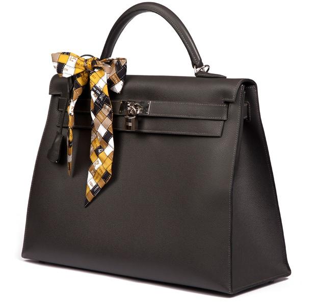 Hermès Kelly 35 Grey Year X