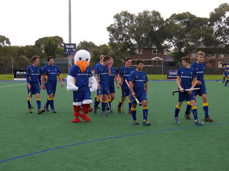 Our Seagull Mascot!