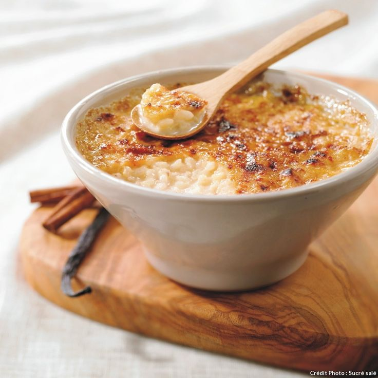 Ce dessert du terroir normand est très proche du riz au lait.