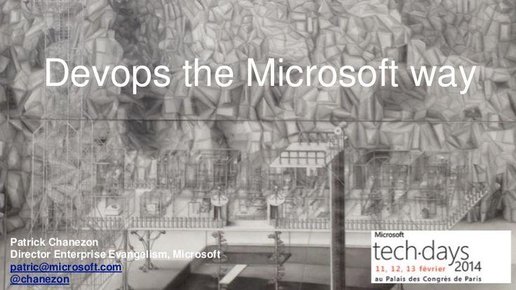 Devops the Microsoft Way #DevOps