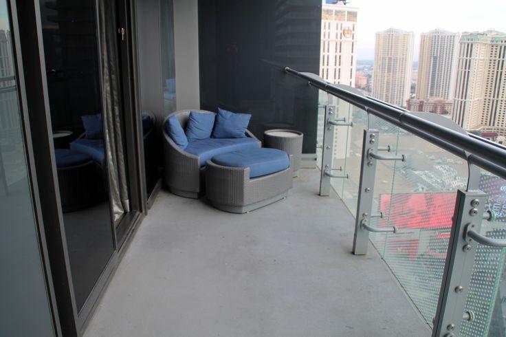 Cosmopolitan Las Vegas room terrace