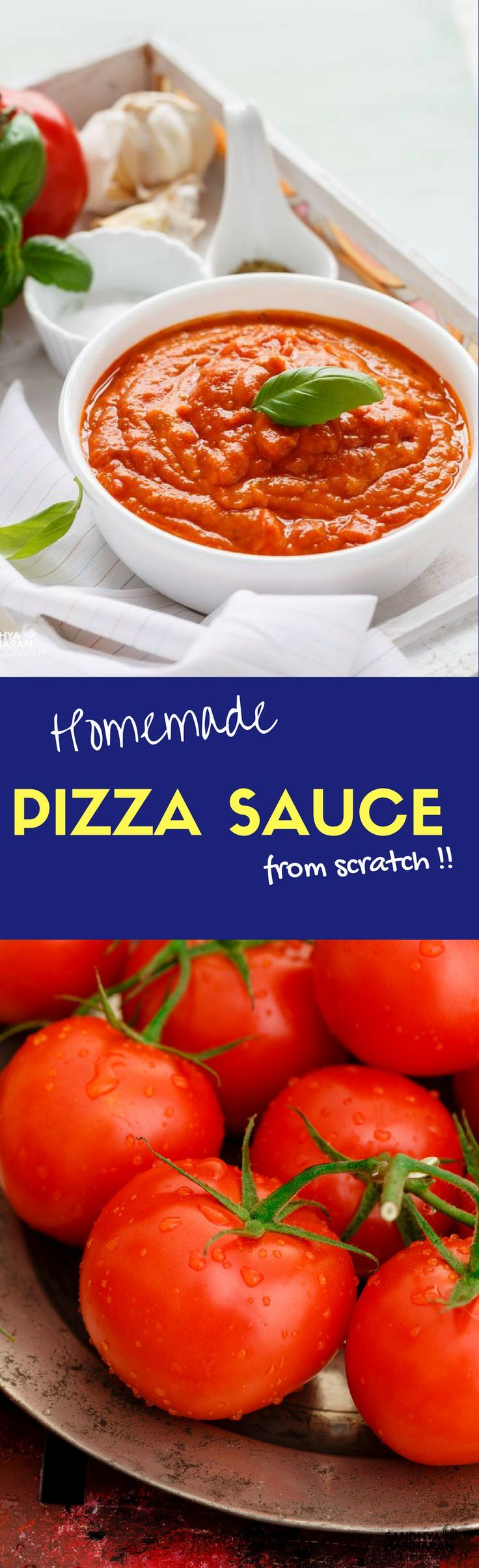 Learn to make Home made Pizza Sauce from Scratch..