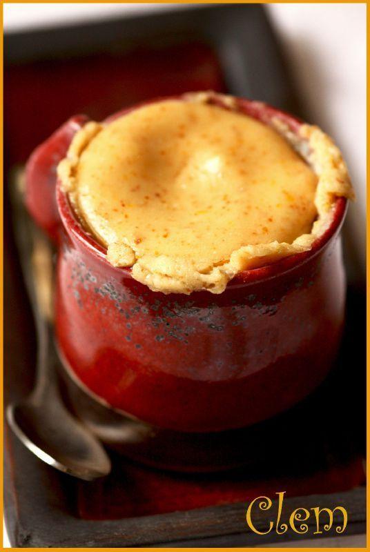 Petites crèmes magiques au citron (sans beurre, sans oeufs, sans PLV ni gluten), crues ou cuites !