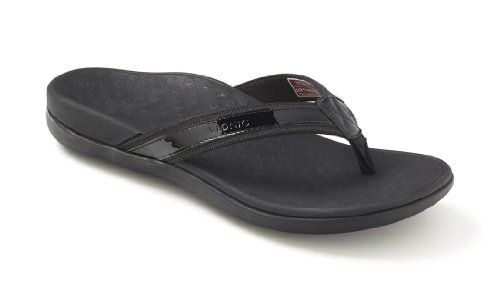 Orthaheel Womens Tide Thong Sandals 9Black -- New and awesome product awaits you, Read it now