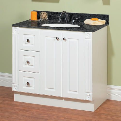 36 3 16 premiere collection vanity base at menards - Menards bathroom vanities 48 inches ...