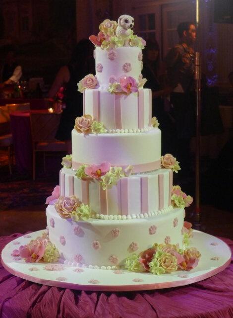 Cake Boss Dog Wedding Cake