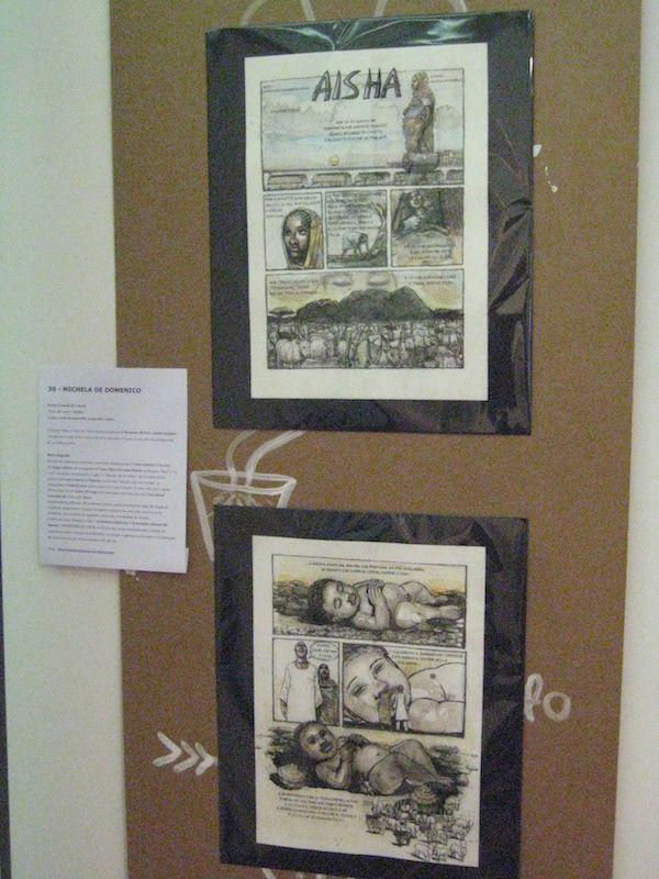 La storia a fumetti (di 2 tavole) di Michela De Domenico