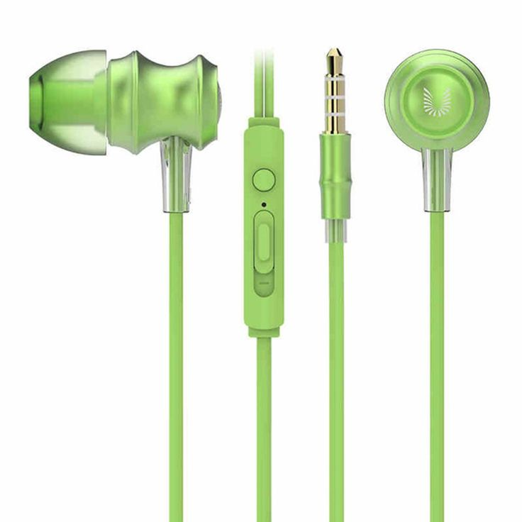 UiiSii US60 In-ear HD Stereo Sound Powerful Bass Eraphones Sales Online green - Tomtop
