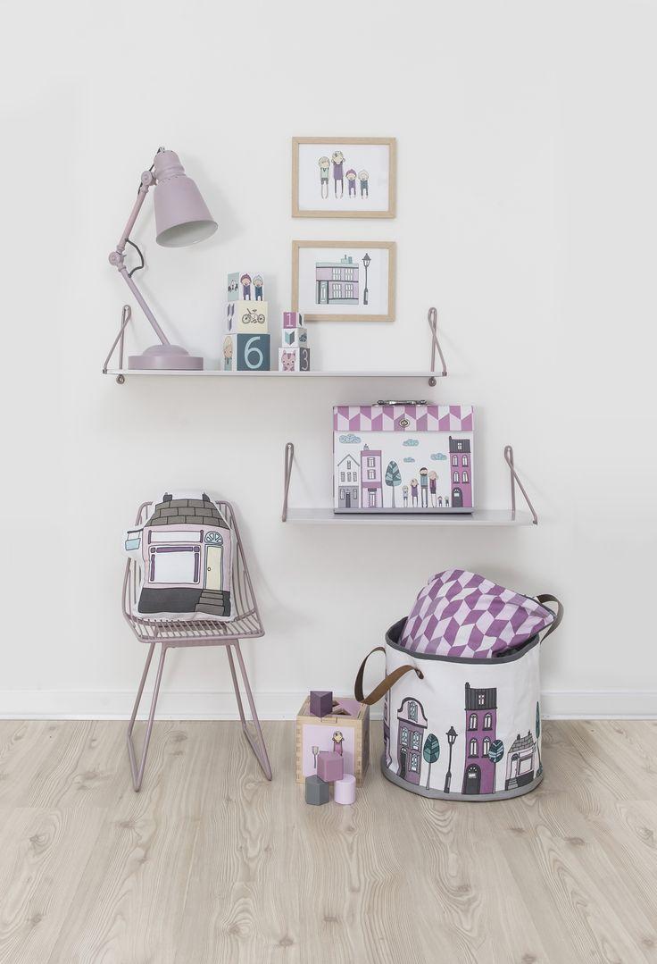 lilla enja - Barnmöbler och Inredning på nätet - Förvaringskorg Village girl från Sebra