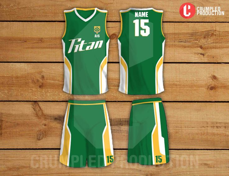 Shirt design for AIS Basketball uniform