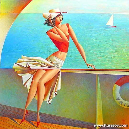Pintura. El inspirador estilo de GEORGY KURASOV