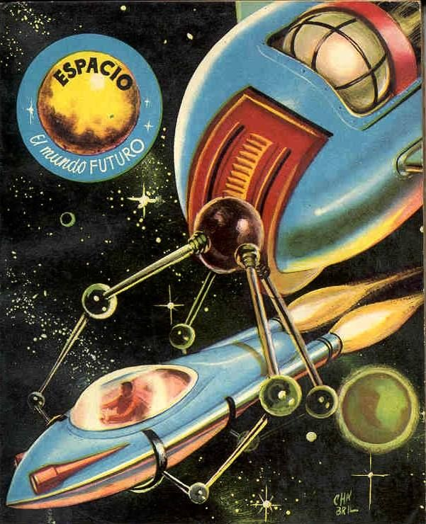 Rare Wonderful 1950s Space Art: 273 Best Retro Futuristic And Vintage Sci-fi Images On