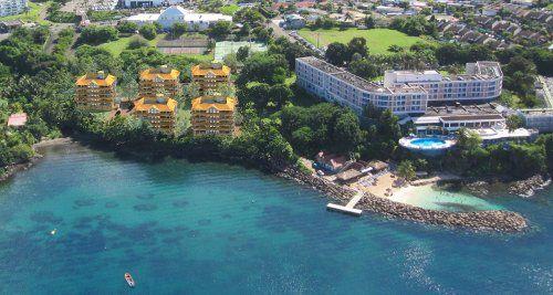 In the heart of Martinique, near the capital Fort-de-France, the Hôtel La…