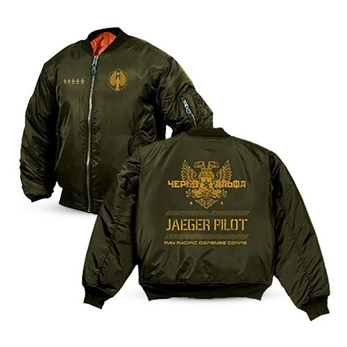 Pacific Rim Cherno Alpha Bomber Jacket