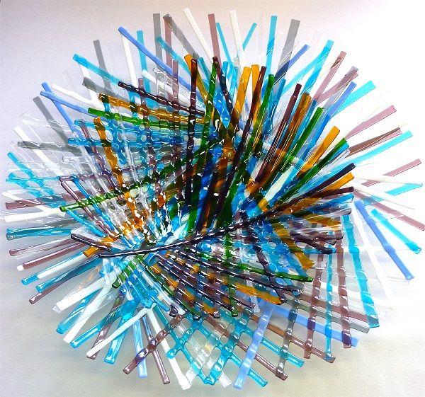 Glaskunst – Kim ten Oever | Glasfusing, Workshop, Cursus, Glasblazen, Kunst, Award, Kunstenaar, Glasatelier, Expositie - Schalennest - Glaskunst - Kim ten Oever | Glasfusing, Workshop, Cursus, Glasblazen, Kunst, Award, Kunstenaar, Glasatelier, Expositie